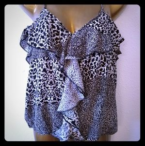 Ruffled Mimi Chica blouse large